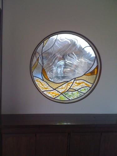 ステンドグラス 窓パネル