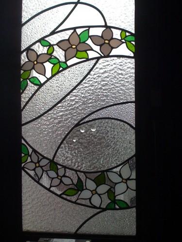 ステンドグラス窓パネル
